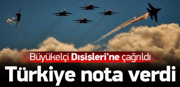 Türkiye'den kritik hamle! Rusya'ya nota