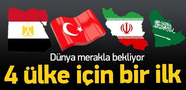 Türkiye, Mısır, İran ve Suudiler için bir ilk