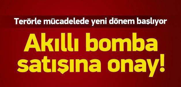Türkiye'ye 'akıllı bomba' satışı onaylandı!