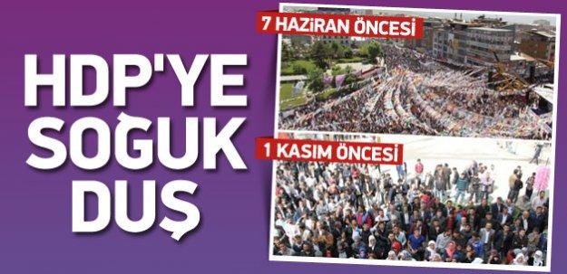 Vanlılardan HDP'ye soğuk duş!