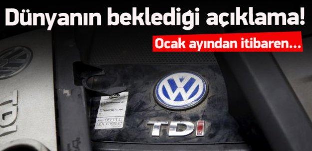 Volkswagen'den çok önemli açıklama!