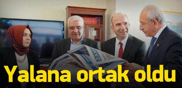 Yalanı bu sefer Kılıçdaroğlu'na söylettiler