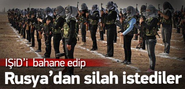 YPG, IŞİD'i bahane edip Rusya'dan silah istedi