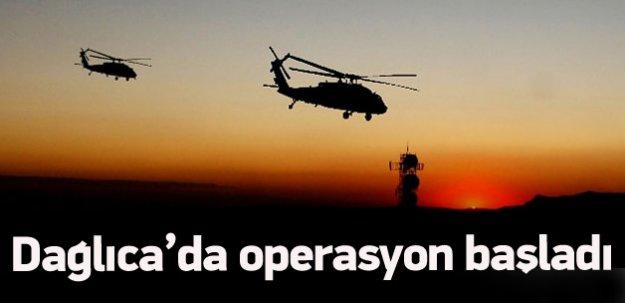 Yüksekova'da operasyon başladı