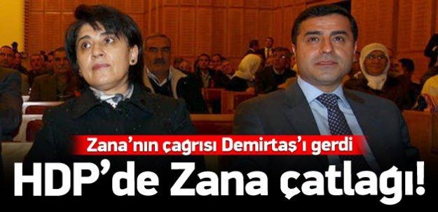 Zana'nın çağrısı Demirtaş'ı gerdi