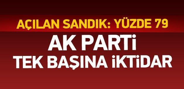 1 Kasım 2015 seçim sonuçları - Türkiye Geneli