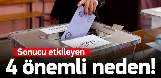 1 Kasım seçimlerinde sonucu etkileyen 4 neden