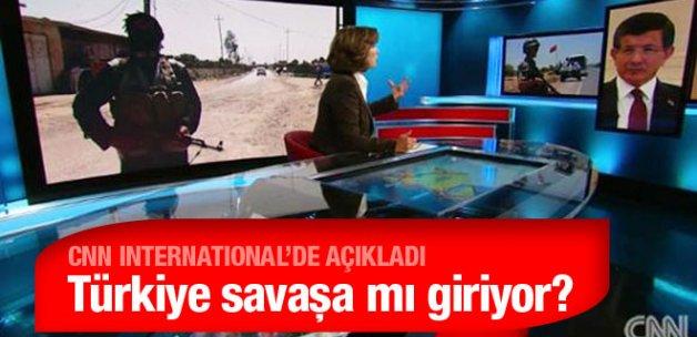 Ahmet Davutoğlu CNN'de açıkladı : Kara operasyonu...