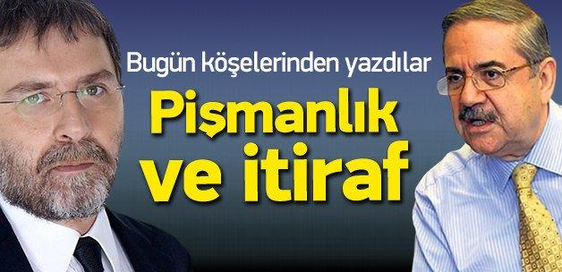 Ahmet Hakan ve Taha Akyol'dan itiraf