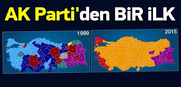 AK Parti 1 Kasım'da haritayı da değiştirdi
