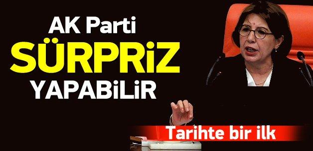 AK Parti Meclis Başkanlığı'nda sürpriz yapabilir