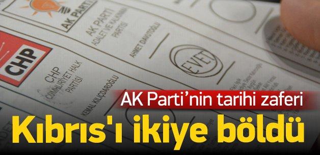 AK Parti'nin seçim zaferi Kıbrıs'ı böldü!
