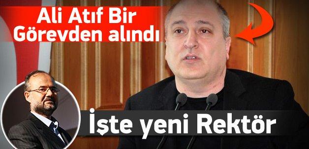 Ali Atıf Bir görevinden alındı