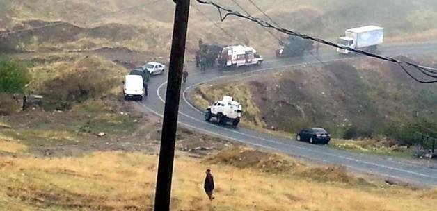 Askeri araç kaza yaptı: 7 yaralı