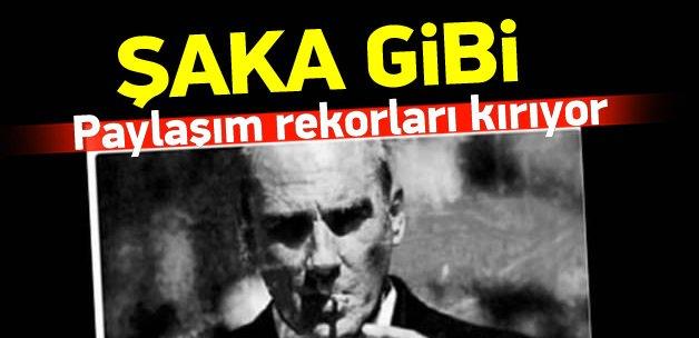 Atatürk sanıldı, paylaşım rekorları kırıyor