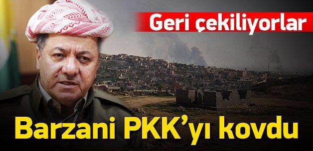 Barzani bastırdı, PKK Şengal'den çekiliyor