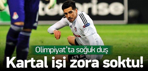 Beşiktaş - Lokomotiv Moskova: 1-1