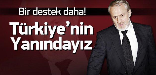 Çeçen Başbakan: Türkiye'nin yanındayız