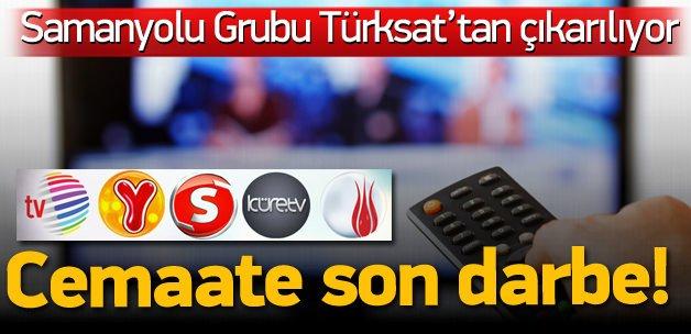 Cemaat TV'leri Türksat'tan da çıkarılıyor!