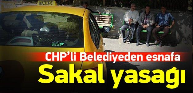 CHP'li belediyeden 'sakal' yasağı
