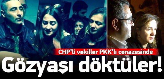 CHP'li İlgezdi PKK'lı cenazesinde ağladı!