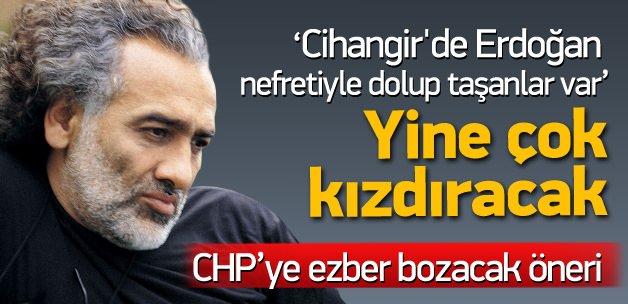 Cihangir'de Erdoğan nefretiyle dolup taşanlar var