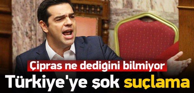Çipras'tan Türkiye'ye şok suçlama