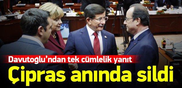 Çipras Türkiye'yi eleştirdi, sonra yazıları sildi