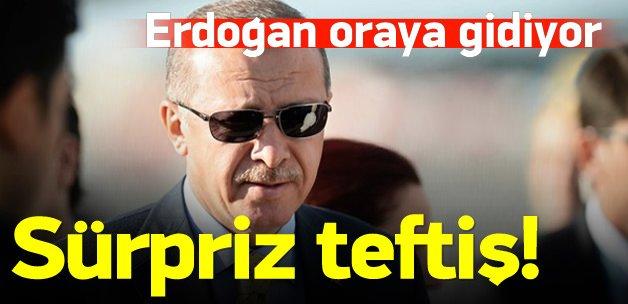 Cumhurbaşkanı Erdoğan'dan G20 teftişi