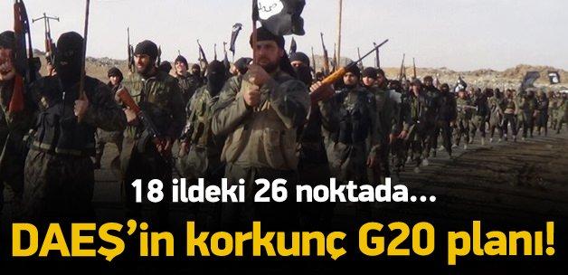 DAEŞ'in G20 planı ortaya çıktı!