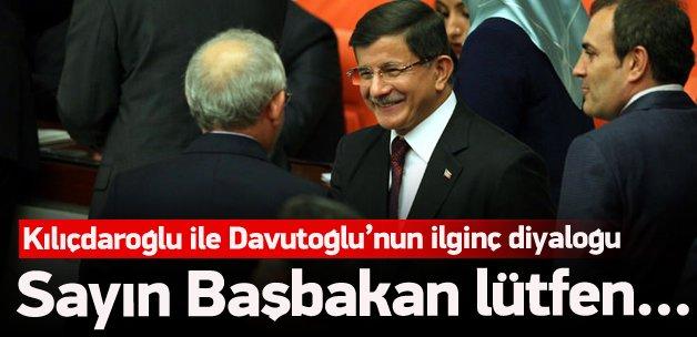 Davutoğlu ile Kılıçdaroğlu'nun sıra centilmenliği!
