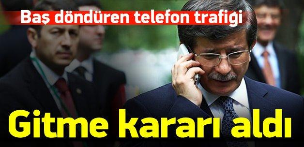 Davutoğlu'ndan baş döndüren telefon trafiği