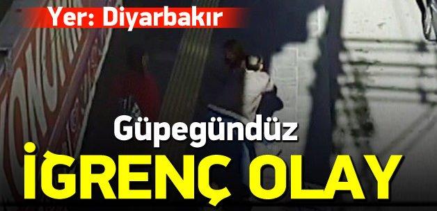 Diyarbakır'da gündüz vakti sapık dehşeti