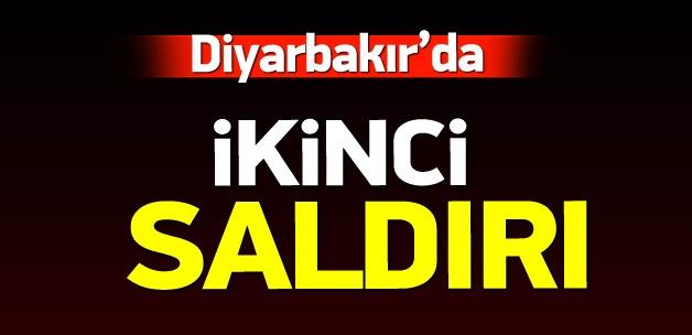 Diyarbakır'da ikinci saldırı: 1 polis yaralı