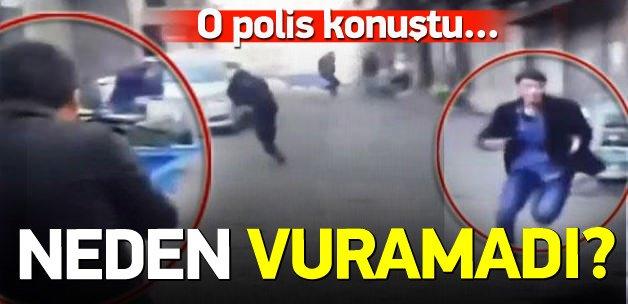Diyarbakır'da teröristle çatışan polis konuştu