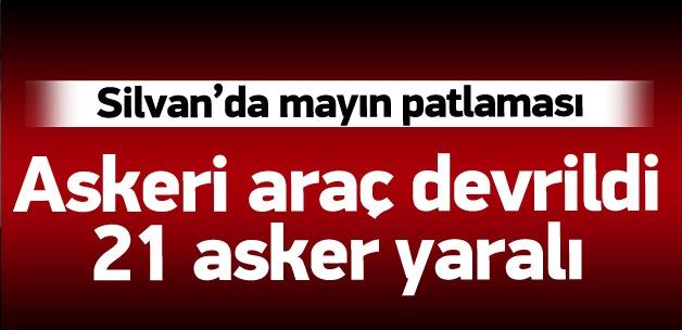 Diyarbakır Silvan'da mayın patlaması