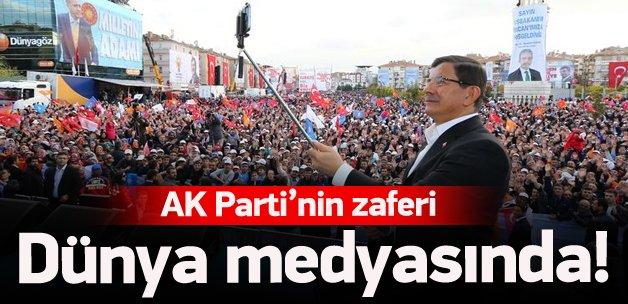 Dünya medyası AK Parti'nin zaferini böyle gördü