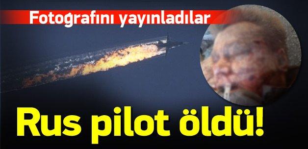 Düşürülen Rus uçağın pilotu öldü