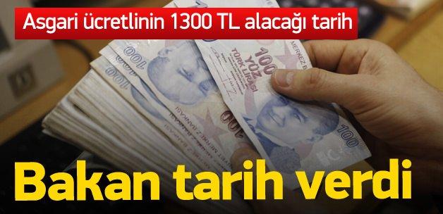 Ekonomi Bakanı asgari ücrete zam için tarih verdi