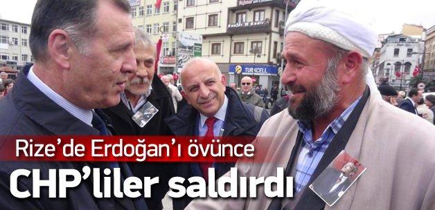 Erdoğan'a 'İkinci Atatürk' dedi CHP'liler saldırdı