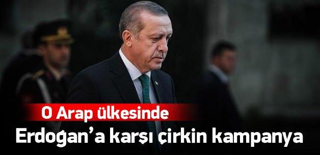 Erdoğan hakkında çirkin kampanya
