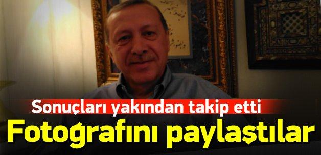 Erdoğan'ın seçim sonuçları sonrası fotoğrafı