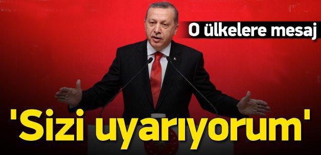 Erdoğan: O ateşten kurtulamayacaksınız