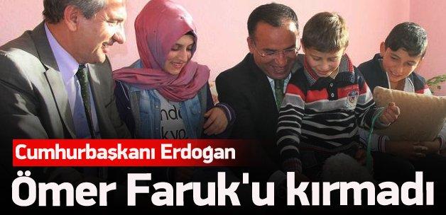 Erdoğan, Ömer Faruk'u unutmadı
