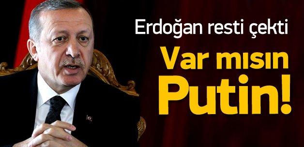 Erdoğan resti çekti: Bırakır giderim