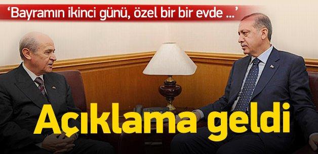 Erdoğan ve Bahçeli seçim öncesi görüştü mü?