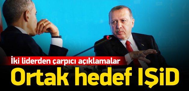 Erdoğan ve Obama'dan önemli açıklamalar