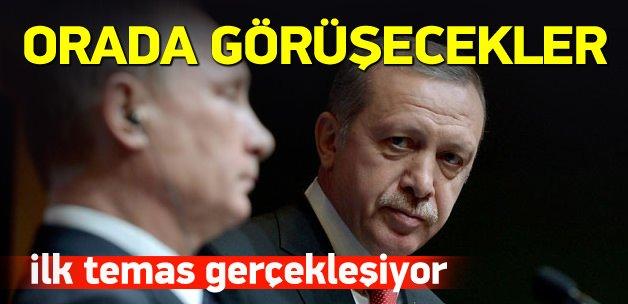 Erdoğan ve Putin orada görüşecek!