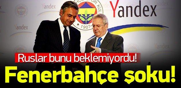 Fenerbahçe taraftarından Yandex'e büyük şok!