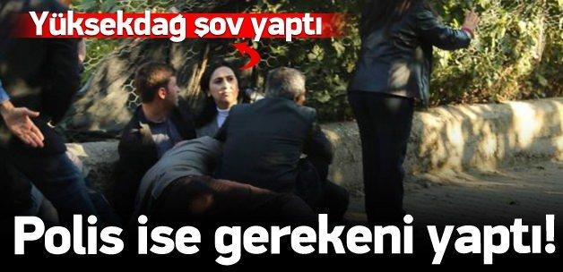 Figen Yüksekdağ yine şov yaptı!